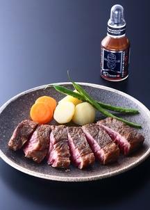 【限定特別価格】希少部位めがね肉の熟成ステーキ&牛醤セット