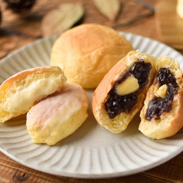 秋冬のスイーツパン 12個セット